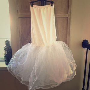 Small Mermaid Tulle Slip David's Bridal